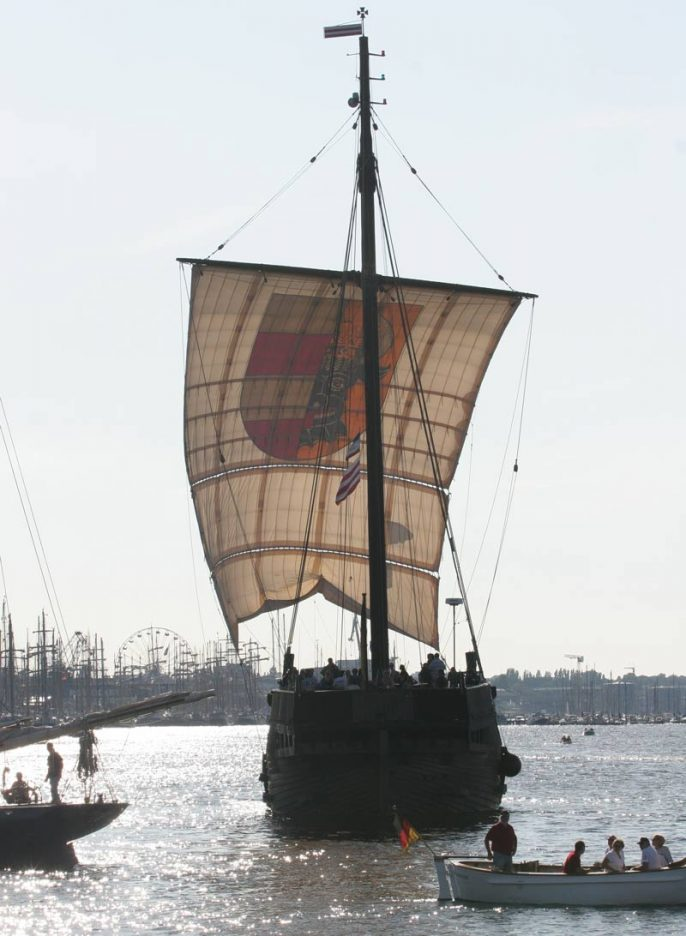 "Hanse Sail – Cog ""Wissemara"""