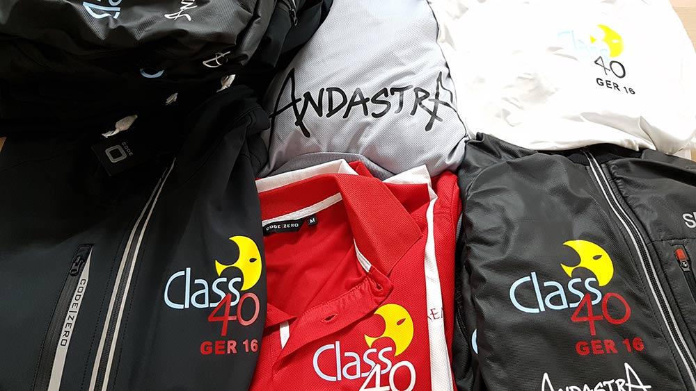 """Neue Crewkleidung für die """"Andastra"""""""